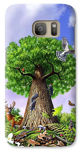 Amphibians Galaxy S7 Case - Tree Of Life by Jerry LoFaro