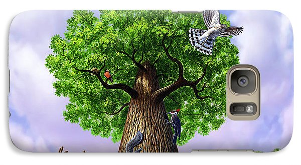 Tree Of Life Galaxy Case by Jerry LoFaro