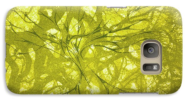Galaxy Case featuring the mixed media Tree Of Life by Rachel Hames