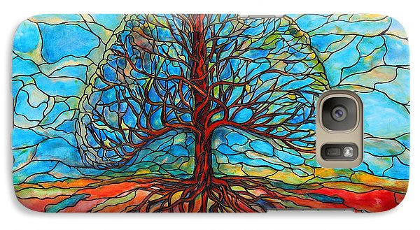 Galaxy Case featuring the painting Tree Of Life by Rae Chichilnitsky