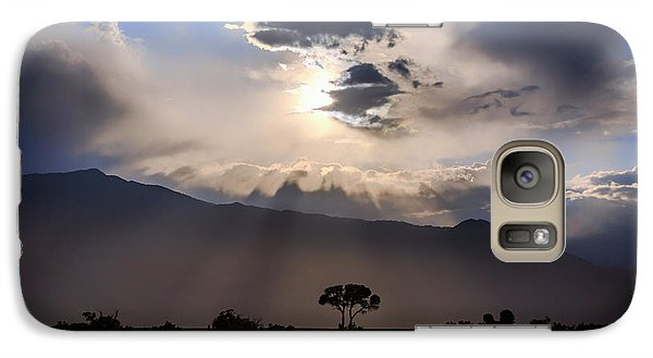 Galaxy Case featuring the photograph Tree Of Light by Cat Connor