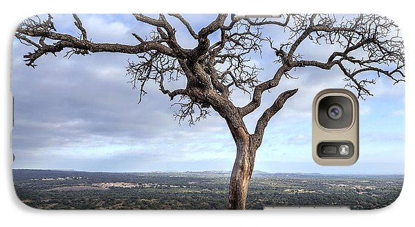 Tree On Enchanted Rock - Square Galaxy S7 Case