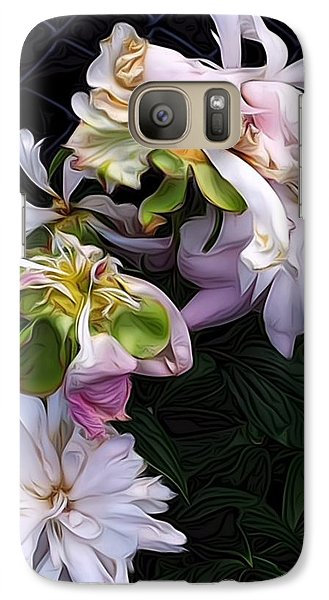 Galaxy Case featuring the digital art Tree Peony by Alexis Rotella