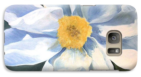 Galaxy Case featuring the painting Tree Peony by Laurie Rohner