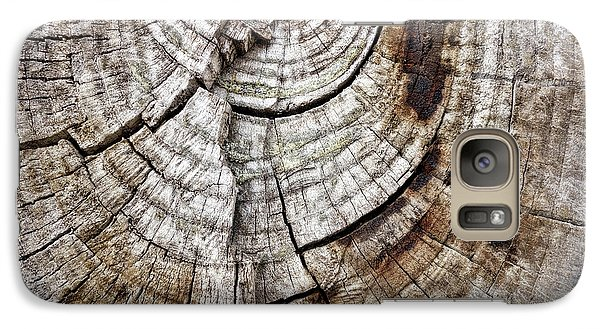 Galaxy Case featuring the photograph Tree Rings - Photography by Ann Powell