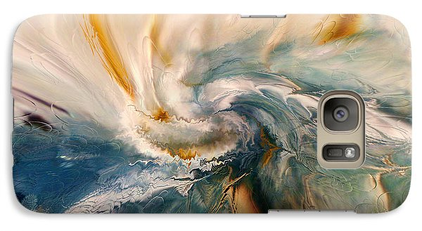 Galaxy Case featuring the digital art Tree Wind by Linda Sannuti
