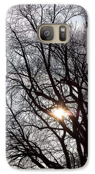 Galaxy Case featuring the photograph Tree With A Heart by James BO Insogna
