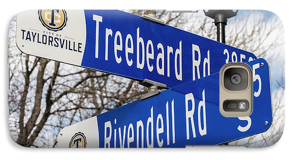 Galaxy Case featuring the photograph Treebeard And Rivendell Street Signs by Gary Whitton