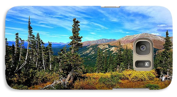 Galaxy S7 Case featuring the photograph Treeline by Karen Shackles
