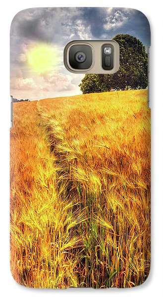 Galaxy Case featuring the photograph Trees At The Top by Debra and Dave Vanderlaan