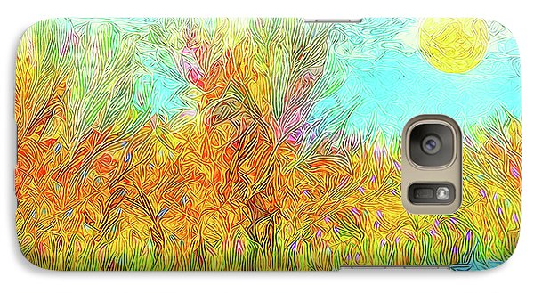 Galaxy Case featuring the digital art Trees Flow With Sky - Boulder County Colorado by Joel Bruce Wallach
