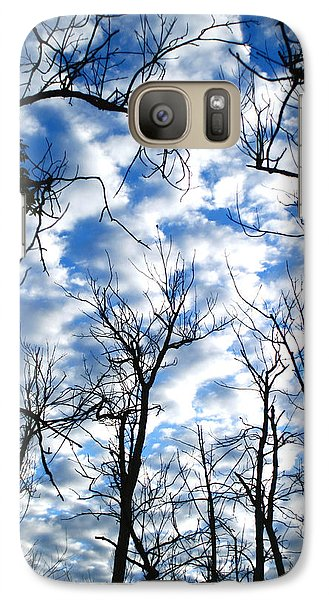 Galaxy Case featuring the photograph Trees In The Sky by Shari Jardina