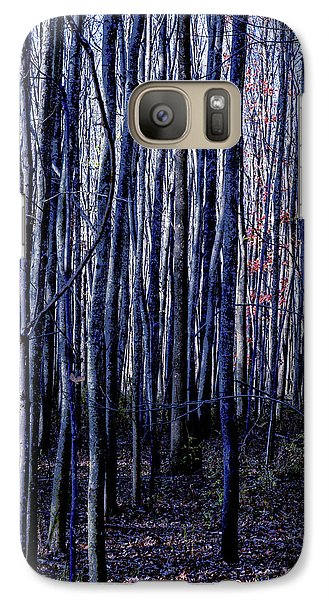 Treez Blue Galaxy S7 Case