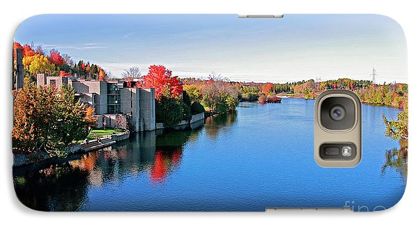 Galaxy Case featuring the photograph Trent University Peterborough Campus by Charline Xia