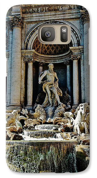 Galaxy Case featuring the photograph Trevi Fountain Vertical  by Harry Spitz