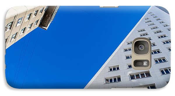 Galaxy Case featuring the photograph Triangle Modern Building by John Williams