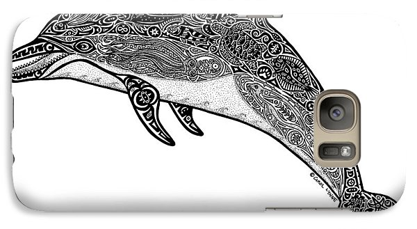 Tribal Dolphin Galaxy S7 Case