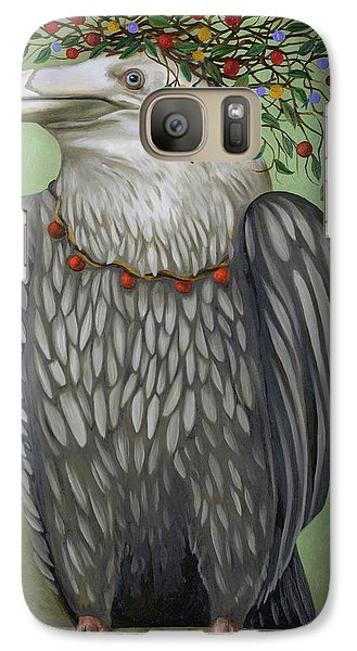 Galaxy Case featuring the painting Tribal Nature by Leah Saulnier The Painting Maniac