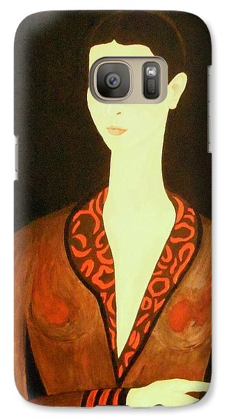 Galaxy Case featuring the painting Tribute To Frida by Stephanie Moore