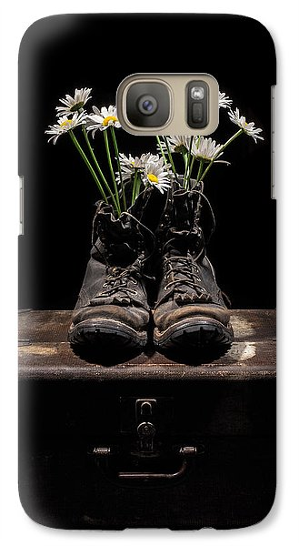 Galaxy Case featuring the photograph Tribute To The Fallen by Aaron Aldrich