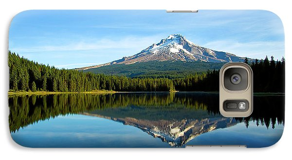 Trillium Lake Mt Hood Fall Galaxy S7 Case