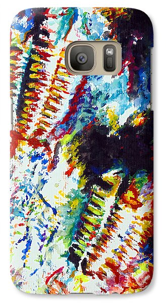 Galaxy Case featuring the painting Trilobite by Daniel Janda