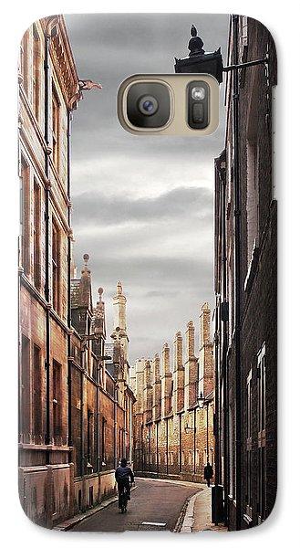 Galaxy Case featuring the photograph Trinity Lane Cambridge by Gill Billington