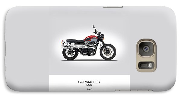 Triumph Scrambler 2015 Galaxy Case by Mark Rogan
