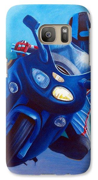 Triumph Sprint - Franklin Canyon  Galaxy Case by Brian  Commerford