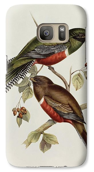 Trogon Collaris Galaxy S7 Case