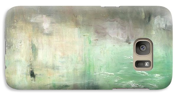 Galaxy Case featuring the painting Tropic Waters by Michal Mitak Mahgerefteh