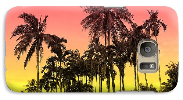 Flowers Galaxy S7 Case - Tropical 9 by Mark Ashkenazi