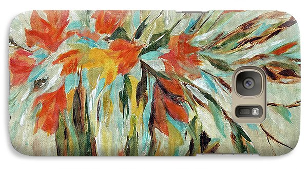 Galaxy Case featuring the painting Tropical Arrangement by Joanne Smoley