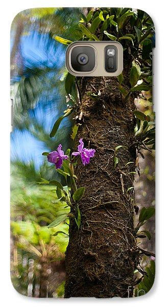 Tropical Beauty Galaxy Case by Mike Reid