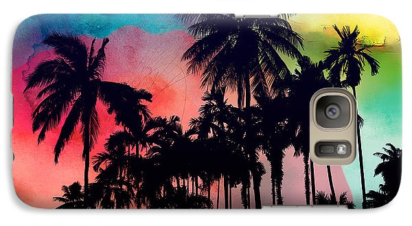 Tropical Colors Galaxy Case by Mark Ashkenazi