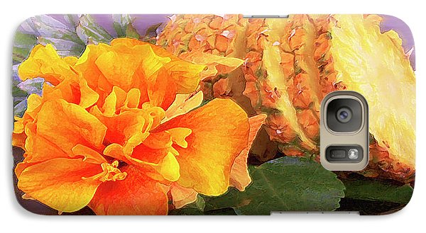Galaxy Case featuring the photograph Tropical Delight Still Life by Ben and Raisa Gertsberg