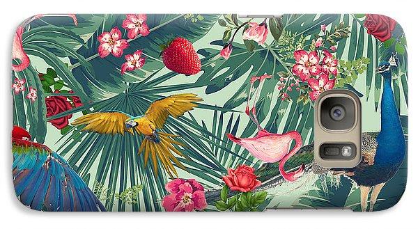 Banana Galaxy S7 Case - Tropical Fun Time  by Mark Ashkenazi