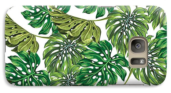 Tropical Haven  Galaxy Case by Mark Ashkenazi