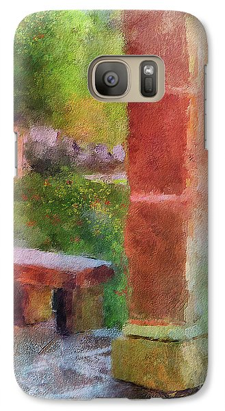 Galaxy Case featuring the digital art Tropical Memories by Lois Bryan