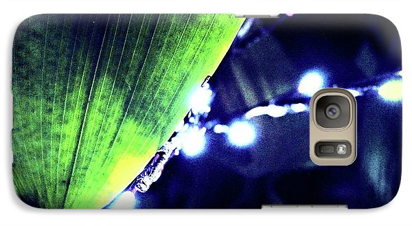 Galaxy Case featuring the digital art Tropical Night by Mindy Newman