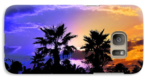 Galaxy Case featuring the photograph Tropical Nightfall by Francesa Miller