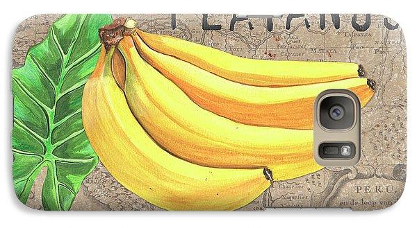 Banana Galaxy S7 Case - Tropical Palms 4 by Debbie DeWitt