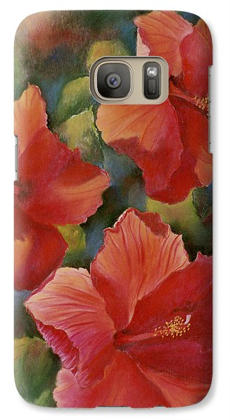 Galaxy Case featuring the painting Tropical Punch by Ann Peck