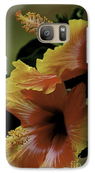 Galaxy Case featuring the photograph Tropical Punch by Lori Mellen-Pagliaro