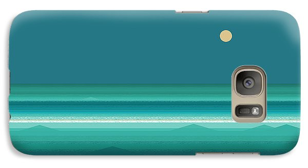 Galaxy Case featuring the digital art Tropical Seas by Val Arie