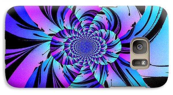 Galaxy Case featuring the digital art Tropical Transformation by Kathy Kelly