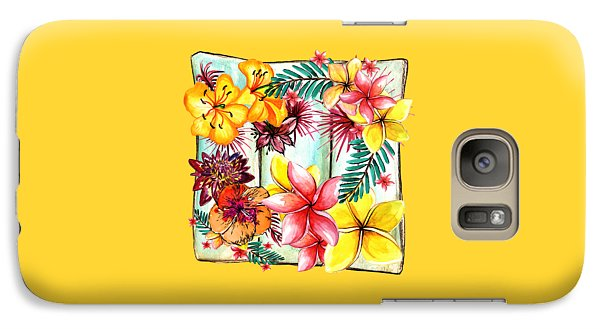 Galaxy Case featuring the photograph Tropicana By Kaye Menner by Kaye Menner