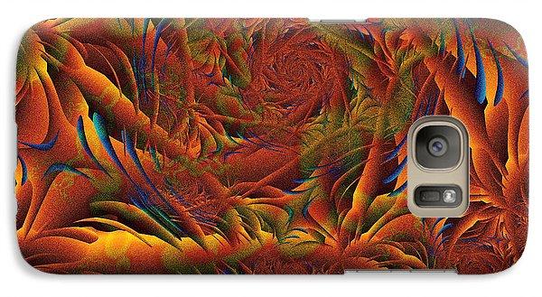 Galaxy Case featuring the digital art Tropicana Fantasy by Richard Ortolano