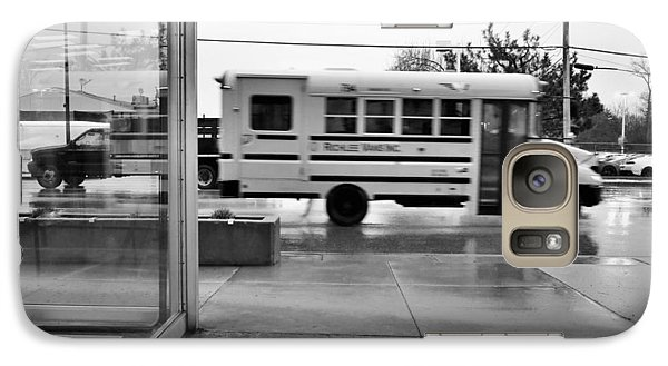 Galaxy Case featuring the photograph Truckin' In The Rain by Jeanette O'Toole
