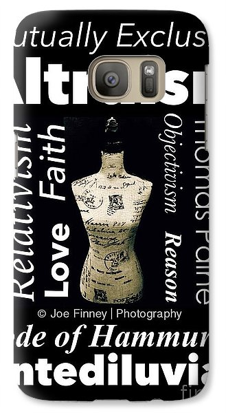 Galaxy Case featuring the photograph True Altruism - No.9188 by Joe Finney